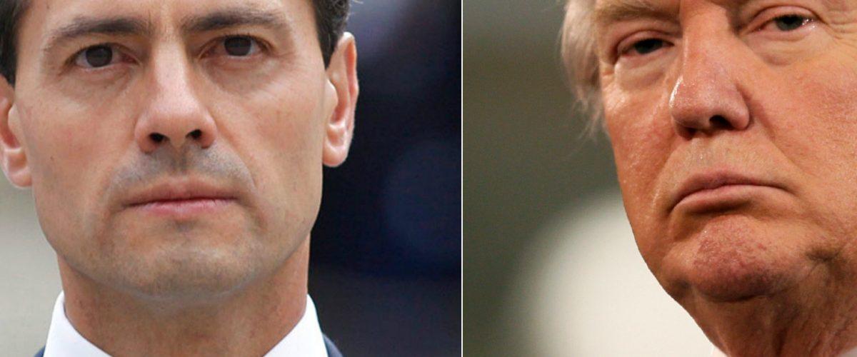 Trump visita México e internet enloquece