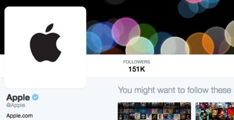 Apple acaba de unirse a Twitter