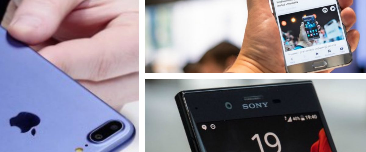 Comparamos al iPhone 7 con el Galaxy Note 7 y el Xperia XZ