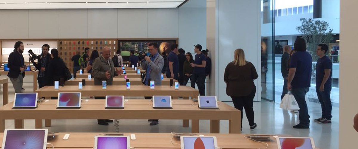 Así luce la primera Apple Store de México