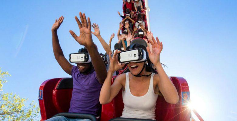 Six Flags y Samsung apuestan por montañas rusas con realidad virtual