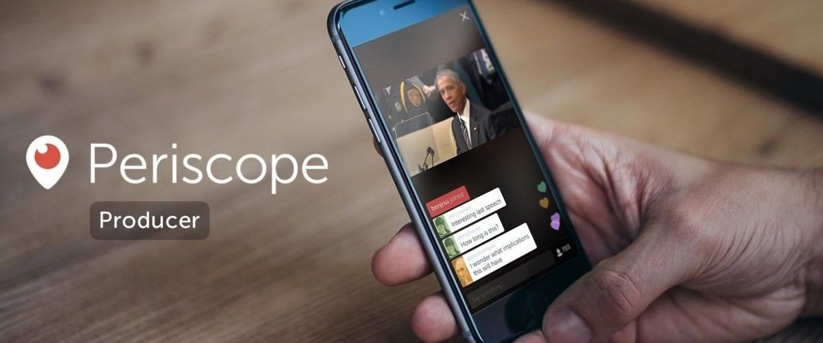 Twitter lanza Periscope Producer