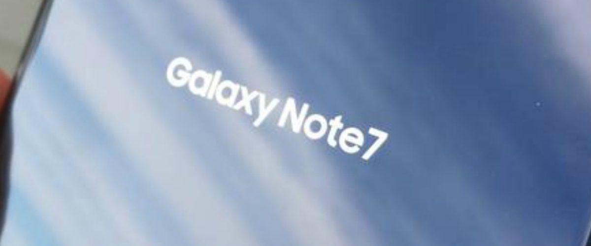 ¿Tienes un Galaxy Note 7? Esto es lo que debes hacer