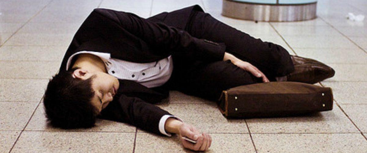 La muerte por exceso de trabajo existe y se llama Karoshi