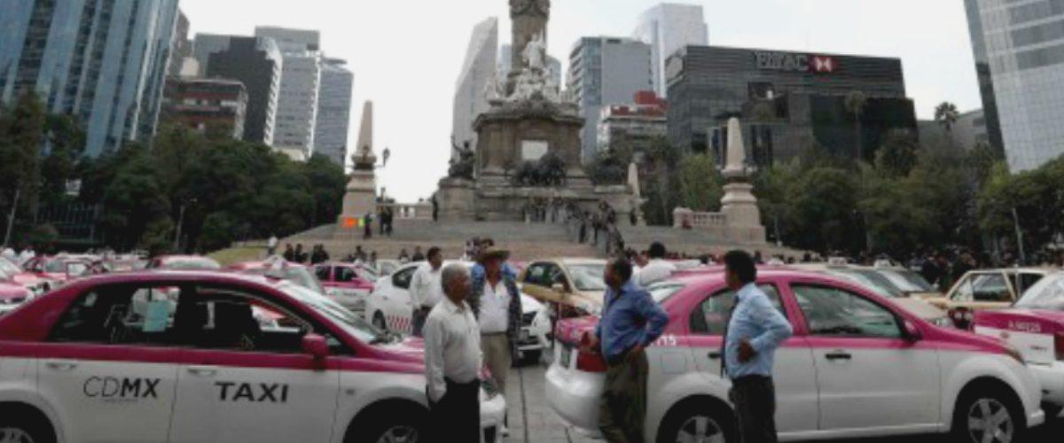 ¿Fuera Uber? Taxistas amenazan con paro nacional si gobierno no paraliza Cabify y Uber