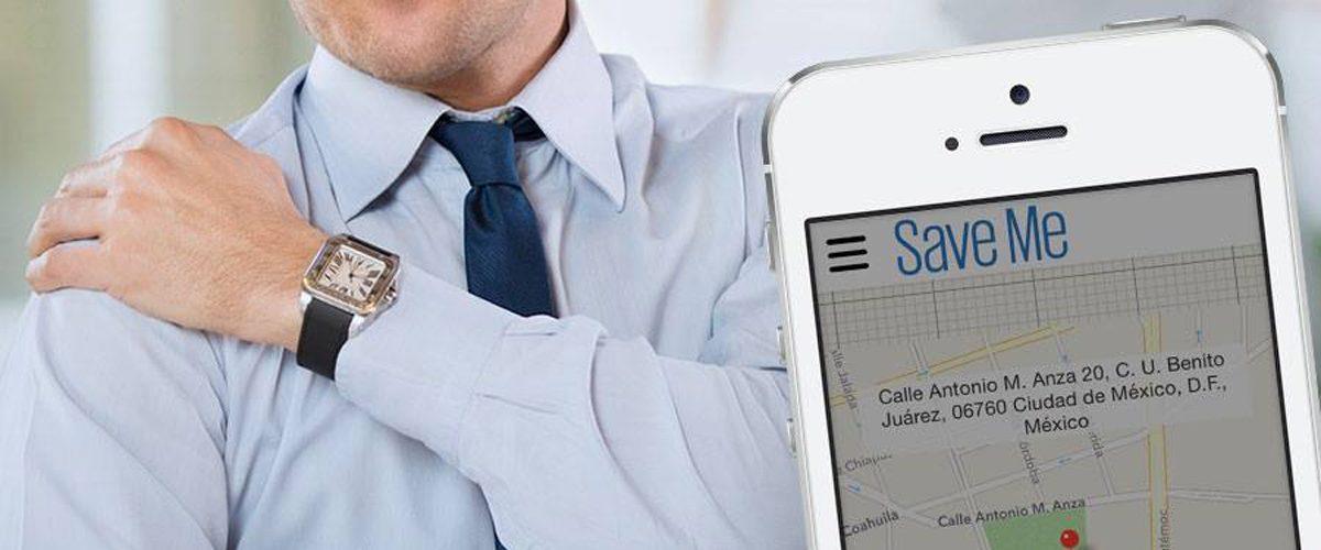 Save Me, servicios de salud a domicilio desde una app