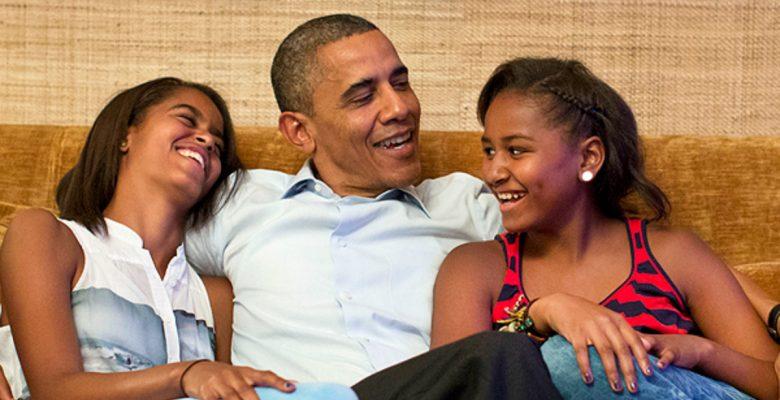 Obama le dijo esto a sus hijas la noche en que Trump ganó las elecciones