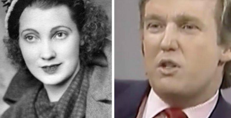 La madre de Donald Trump llegó a EU desde Escocia como inmigrante