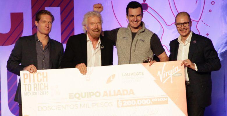 Aliada, la startup mexicana que conquistó a Richard Branson
