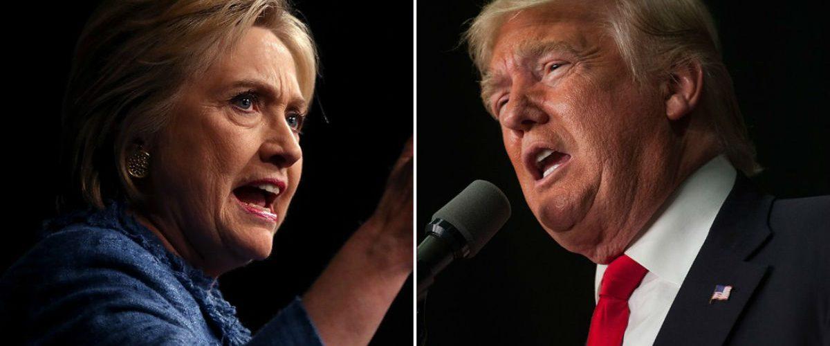 Hillary Clinton y Donald Trump llegan a Periscope