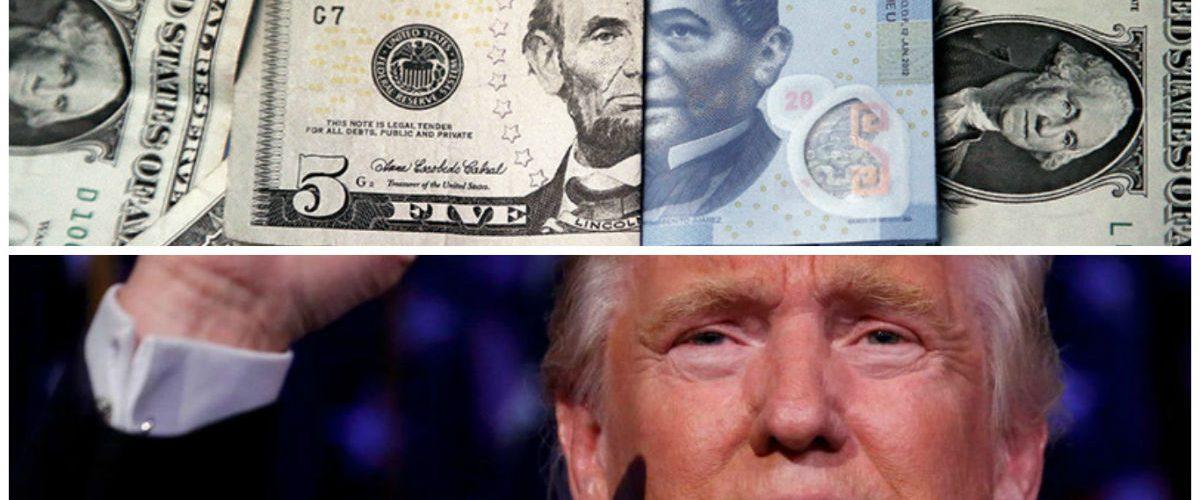 El peso sigue 'sufriendo' por la victoria de Trump
