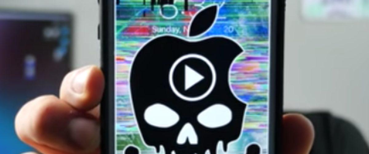 Ver este mensaje en tu iPhone puede arruinarlo seriamente