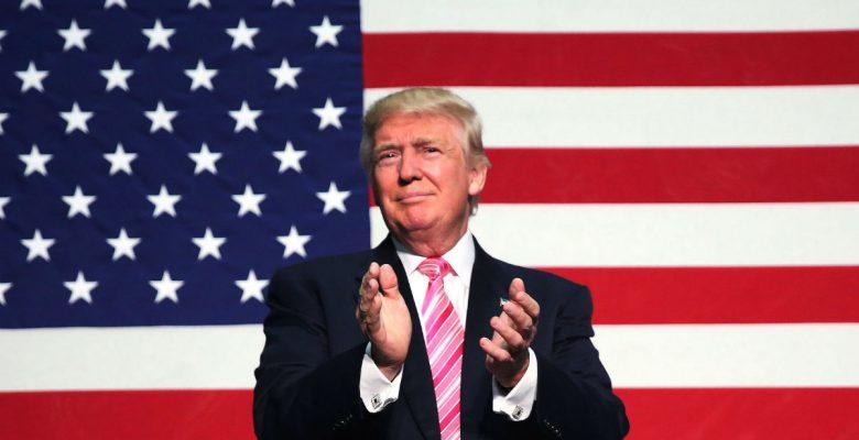 Donald Trump durante un acto electoral Reuters