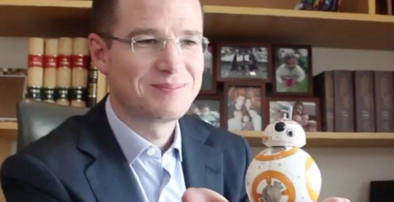 Mira cómo Ricardo Anaya, del PAN, arruina Star Wars para todos