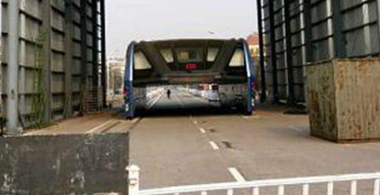 Así quedó el autobús que resolvería el problema del tráfico