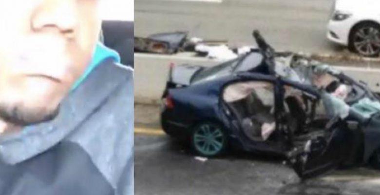 Joven descubre que conducir y transmitir en vivo por Facebook es mala idea