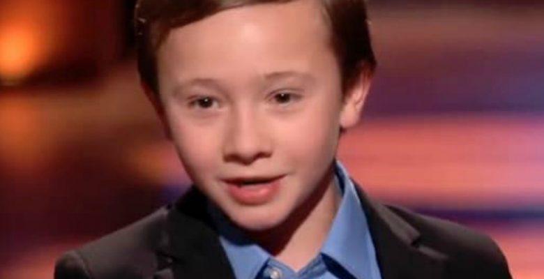 Conoce al niño de 10 años que conquistó a Shark Tank