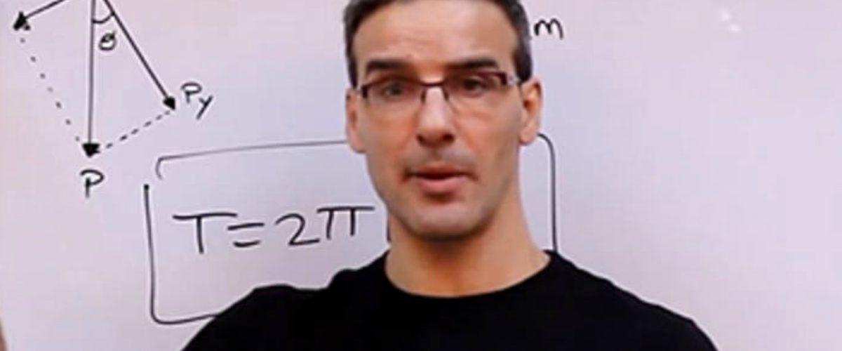 David Valle, un youtuber candidato al premio Nobel de Educación