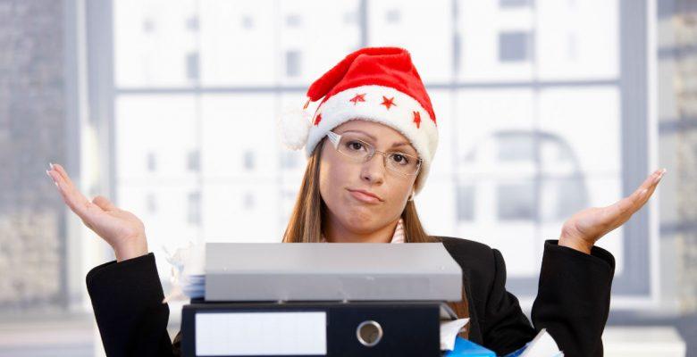 Esta es la mejor manera de contestar un mail a tu jefe durante tus vacaciones navideñas