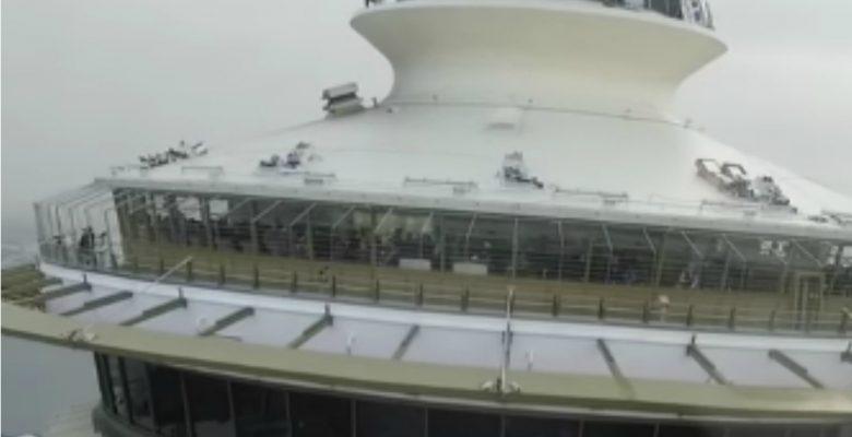Lo multan con 108 mil pesos por estrellar un dron contra icónico edificio