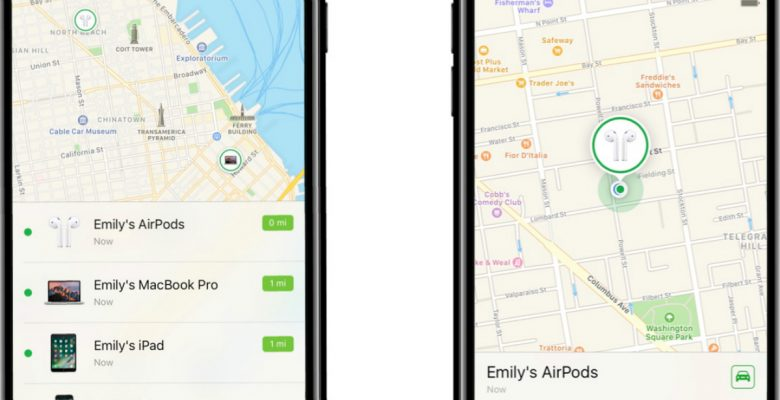 Apple nos cree tan tontos que hizo una app para hallar AirPods perdidos
