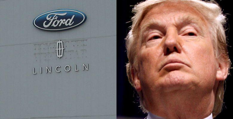Ford cancela inversión en México por críticas de Trump