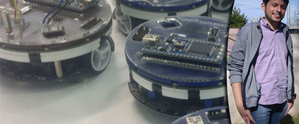 Este mexicano diseñó un sistema de robots multitareas