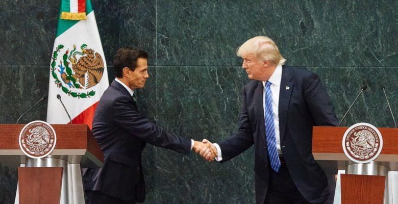 EPN ya tiene listo a su equipo para negociar el TLCAN con Trump; ¿lo logrará?