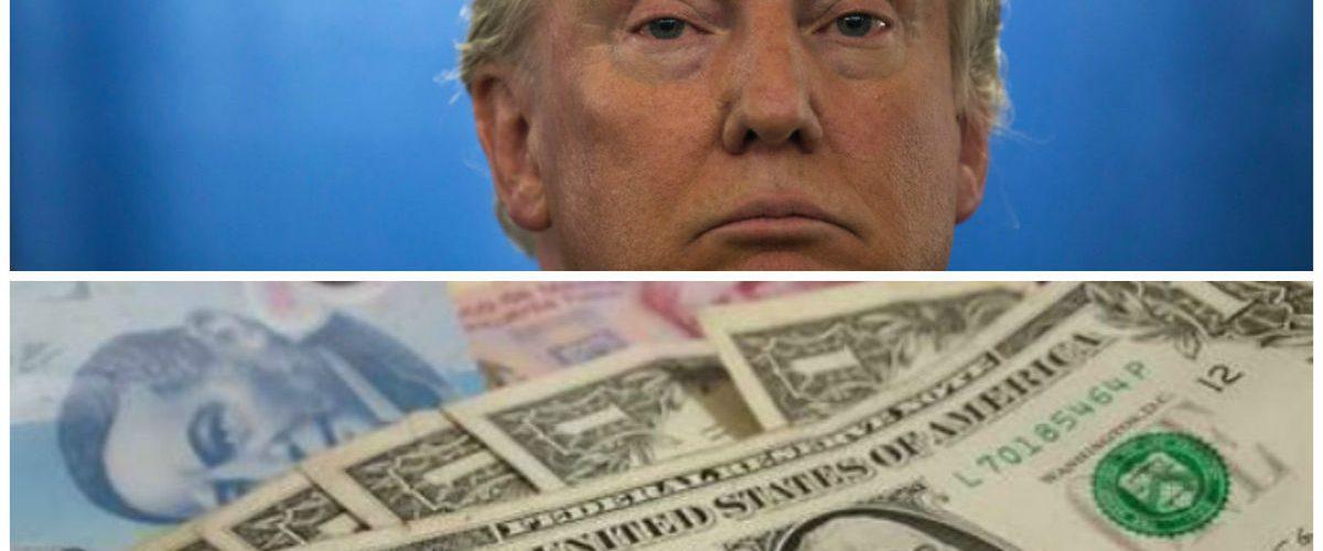Dólar supera los 22 pesos previo a mensaje de Trump