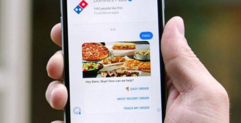Ahora podrás pedir tus pizzas usando el Messenger de Facebook