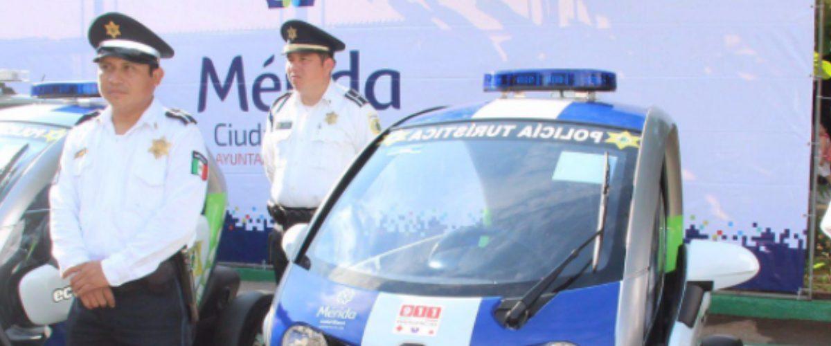 Fuerza de Policía de Mérida perseguirá al crimen en patrullas eléctricas