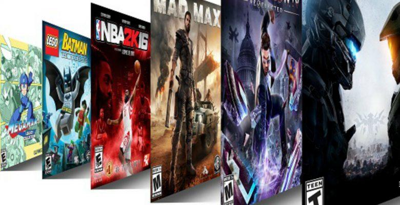 Xbox está ofreciendo 100 videojuegos por 10 dólares mensuales