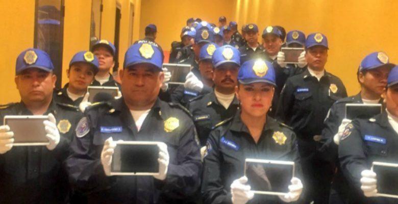 Policías de Iztapalapa combatirán al crimen usando… ¿tabletas?