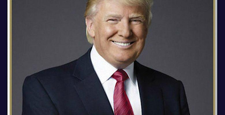 Error ortográfico en foto oficial de Trump escandaliza a internautas
