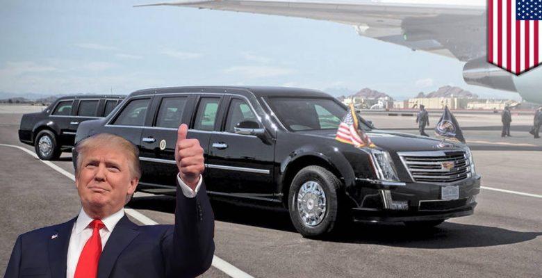 Esto es lo que cuesta tener una limusina de Trump
