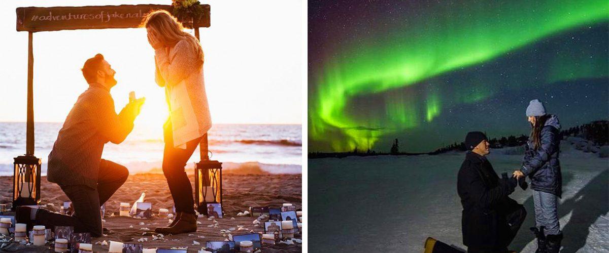 Estos son los mejores lugares del mundo para pedir matrimonio