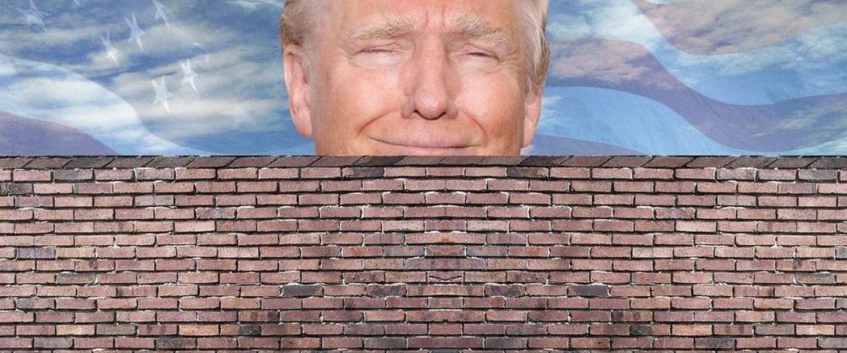 Menos de la mitad de los estadounidenses aprueba el muro de Trump