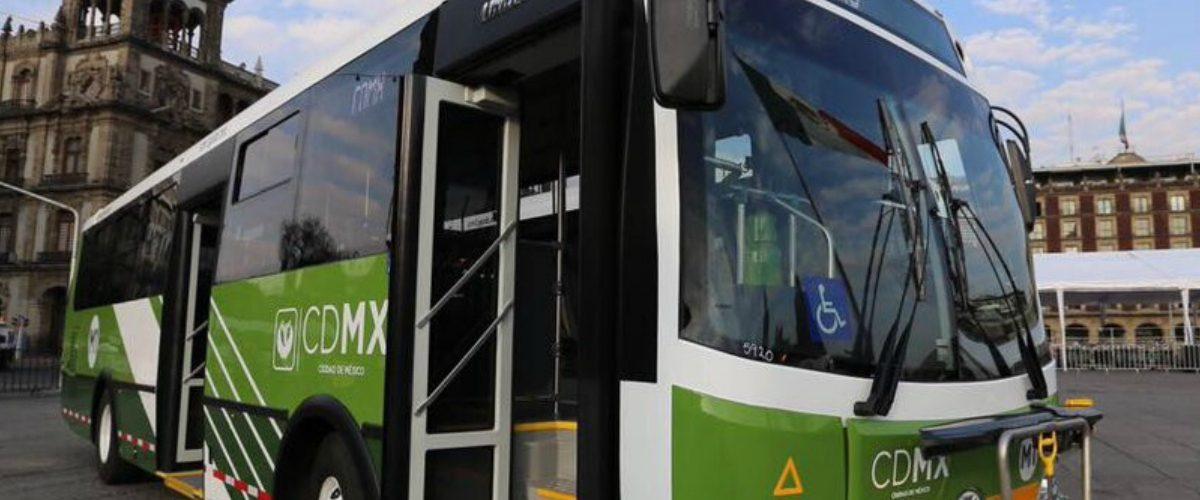 Los nuevos autobuses de la CDMX tendrán puertos USB, GPS y cámaras de seguridad