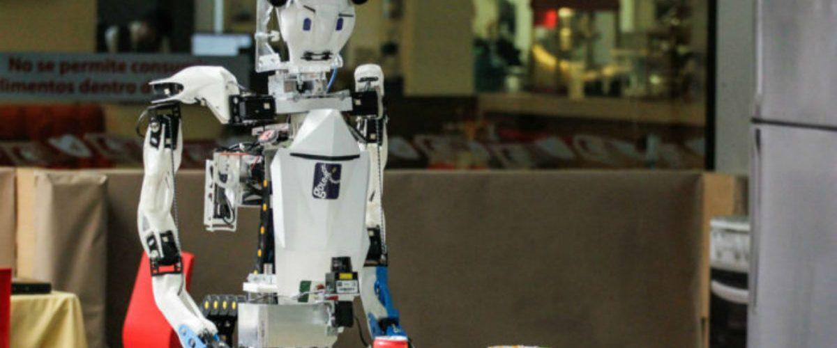 Con este robot, los estudiantes de la UNAM pondrán en alto el nombre de México