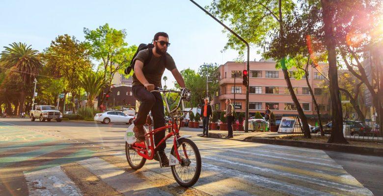 Así se vive la ciudad en bicicleta