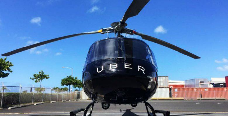 Uber cobrará 21 dólares para que viajes en helicóptero