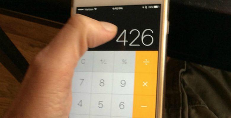 La función de la app de calculadora del iPhone que enloqueció a internet
