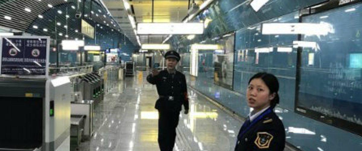 Así luce por fuera la estación de Metro más futurista de China