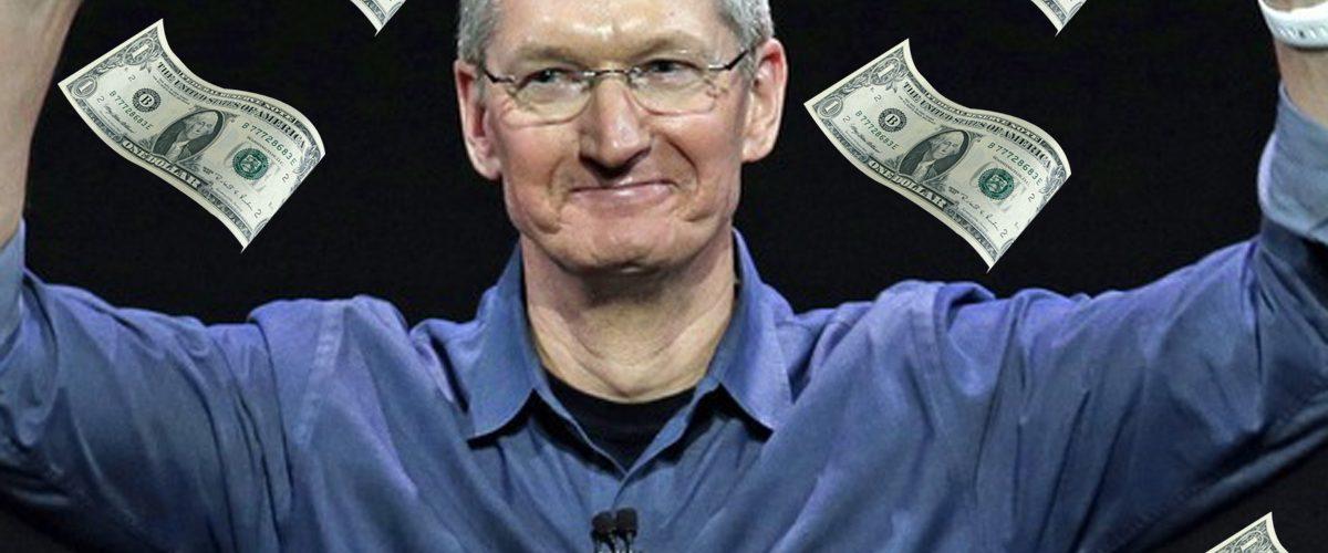 Apple podría comprar Starbucks, McDonald's y Tesla con su efectivo