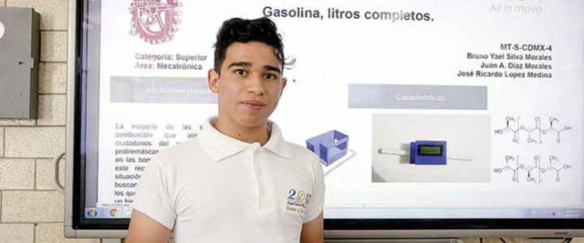 Este mexicano halló la solución para que no te roben gasolina