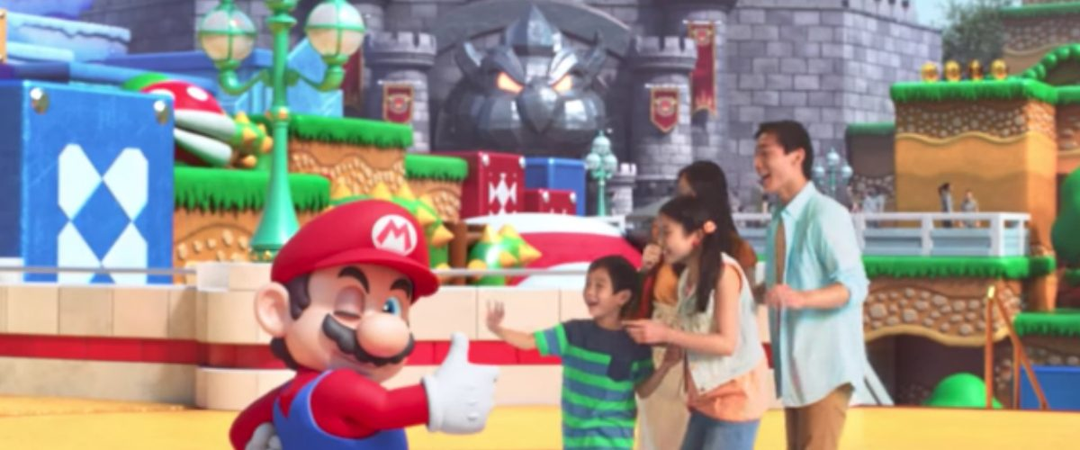Ya sabemos cómo podría ser el parque de diversiones de Nintendo
