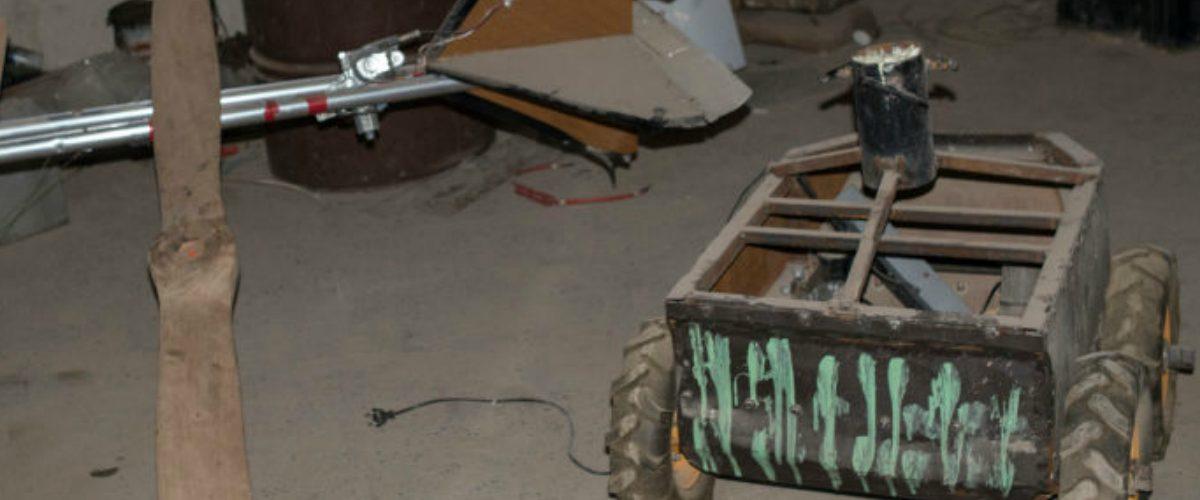 Así luce un taller de drones asesinos que usan los terroristas de ISIS