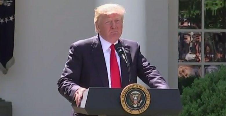 Donald Trump saca a Estados Unidos del acuerdo climático de París