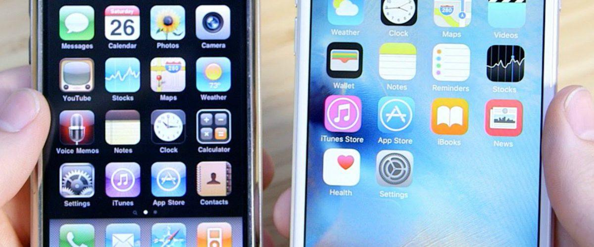 Fotos para recordar lo inútil que era el primer iPhone comparado con los nuevos
