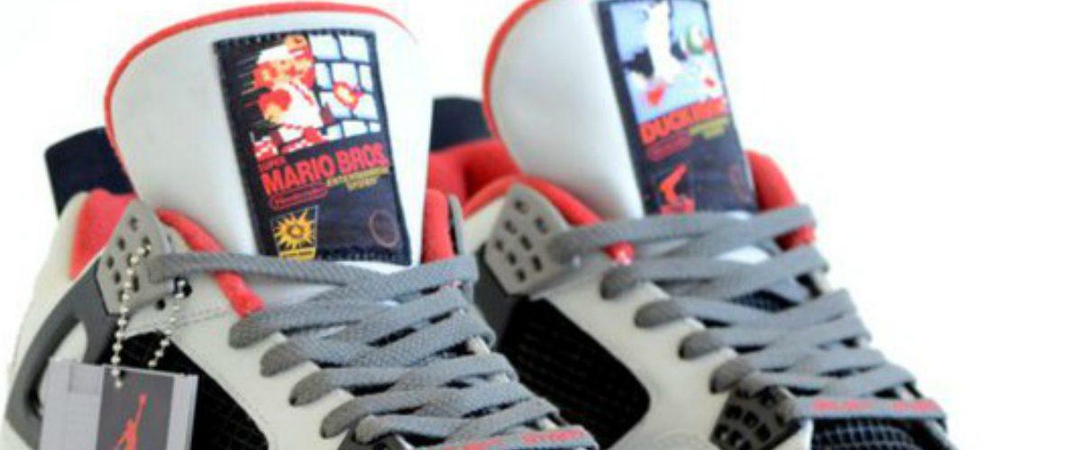 Estos Air Jordan de Nintendo enloquecerán a cualquier gamer